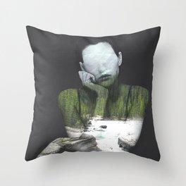 Inner Nature Throw Pillow