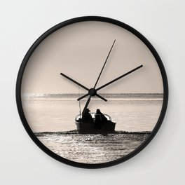 Into the great wide open Wall Clock