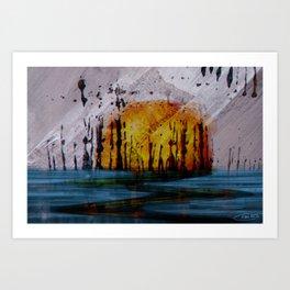 Spunups Art Print