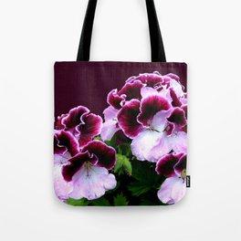 Pink, Purple, Flower Power Tote Bag