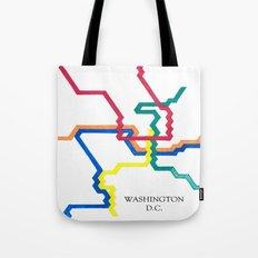 Washington D.C. Metro Tote Bag