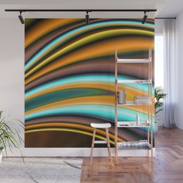 Abstract Fractal Colorways 01BR Wall Mural