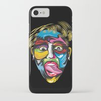 miley iPhone & iPod Cases featuring miley by Sneaker Pie