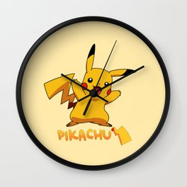 Pika Smile nice Wall Clock