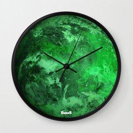 Q'onos - Klingon Home World Wall Clock