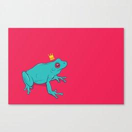 Frawg Canvas Print