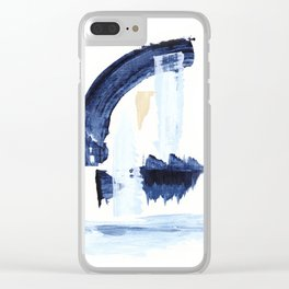 Minimal Expressions 05 Clear iPhone Case