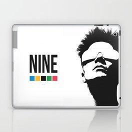 NINE by Kelvin Huggins Laptop & iPad Skin