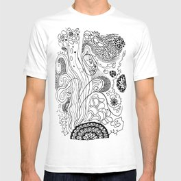 Geometric Stream T-shirt