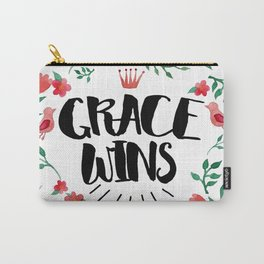 Grace Wins Carry-All Pouch