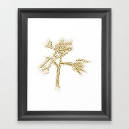 u2's Joshua Tree Tracklist Framed Art Print