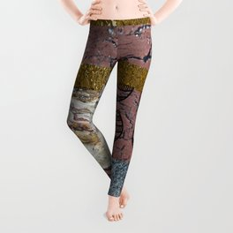 textures and doodles 1 Leggings