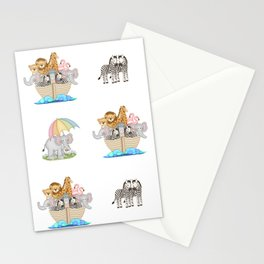 Noahs Ark Nursery Stationery Cards