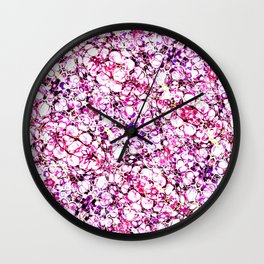 Mixed impression Wall Clock