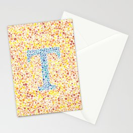 """T"" Eye Test Full Stationery Cards"