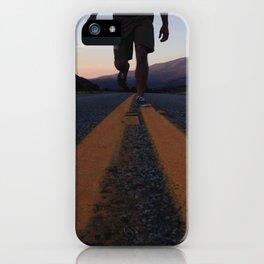 Walking in Colorado iPhone Case