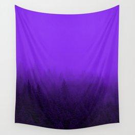 Purple Fog - 2 Wall Tapestry