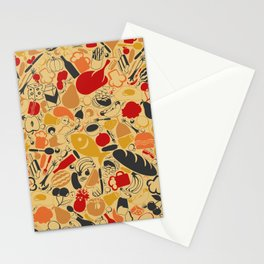 Food a background Stationery Cards
