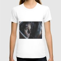 ripley T-shirts featuring Ripley from Aliens by Ashley Anderson