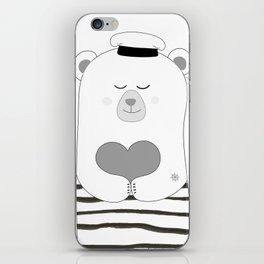 Coastal bear iPhone Skin
