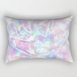 Iridescent Texture Rectangular Pillow
