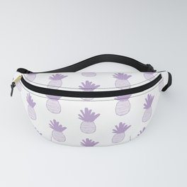 Lavender Pineapple Pattern 2 Fanny Pack