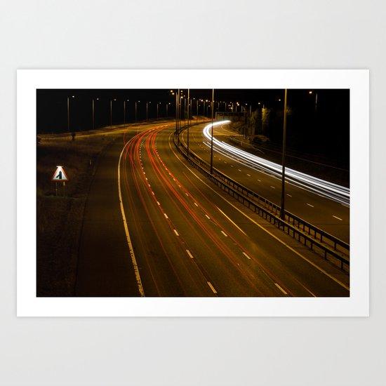 Night Life Art Print