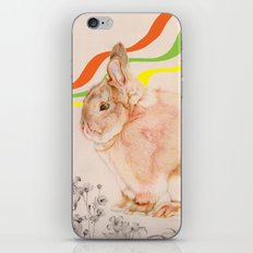 Dedicated to all those bunnies out there iPhone & iPod Skin
