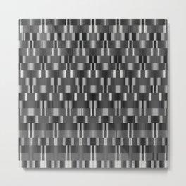 mech pattern Metal Print