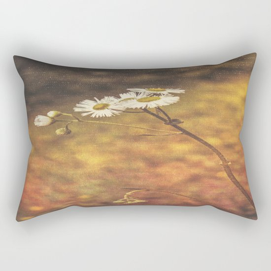 Don't Eat The Daisies Rectangular Pillow