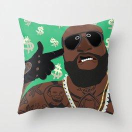 The Baw$e Throw Pillow
