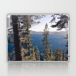 Hidden Lake Love - Nature Photography Laptop & iPad Skin