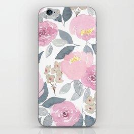 Flowers in Pink iPhone Skin