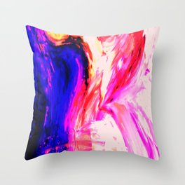 Abstract Hurricane 3 by Robert S. Lee Throw Pillow