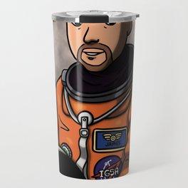 Space Captain James Travel Mug