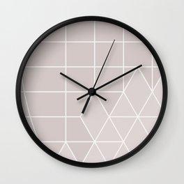ice pink Wall Clock