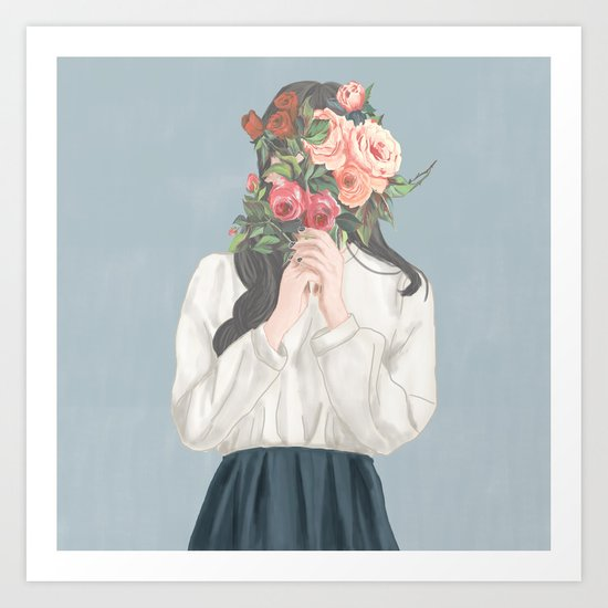 Women's Day Art Print