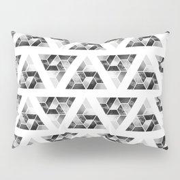 Tessellate Triangle Mountain Pillow Sham