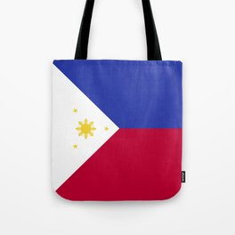 Philippines flag emblem Tote Bag