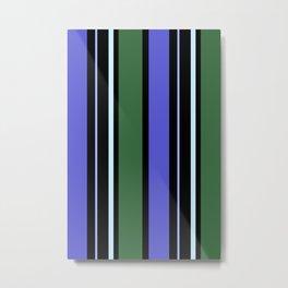 Stripes in colour 6 Metal Print
