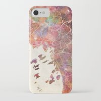 oslo iPhone & iPod Cases featuring Oslo by MapMapMaps.Watercolors