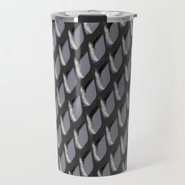 Just Grate Abstract Pattern With Heather Background Travel Mug