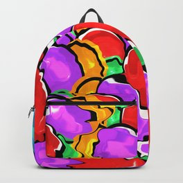 Colorful Scrambled Eggs Backpack
