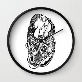 Phoenix Tattoo Wall Clock