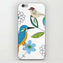 Polish birds iPhone Skin