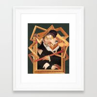 frames Framed Art Prints featuring frames by Karen Constance Collage and Paintings