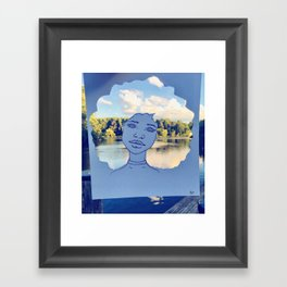 The Scenic View Framed Art Print
