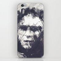 steve mcqueen iPhone & iPod Skins featuring Steve McQueen - The Legend by HelloFedUp
