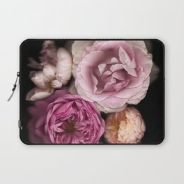 Pink, Purple, and White Roses Laptop Sleeve