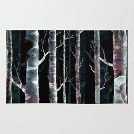 Birch Tree Rug